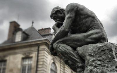 the thinker, rodin, paris